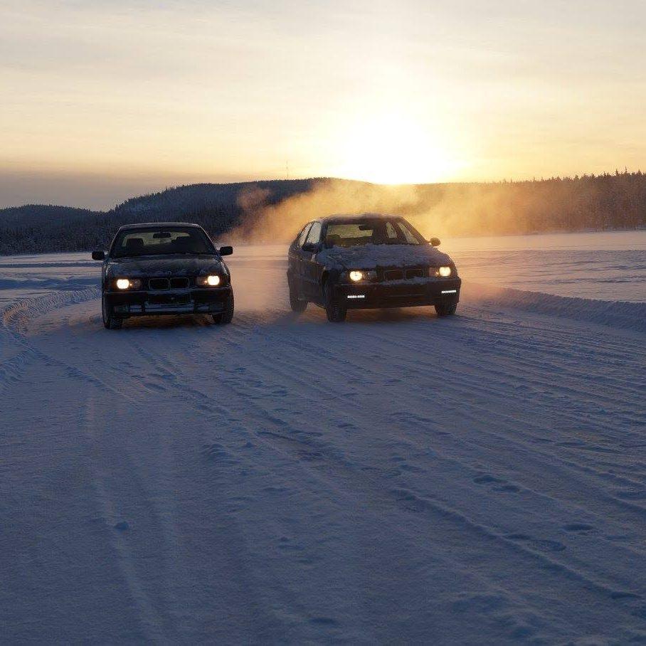 conduite sur glace